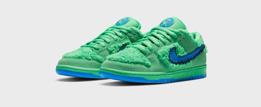 Nike Releases Furry Grateful Dead SB Dunk Low Sneakers