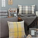 M&Co Country Check Cushion