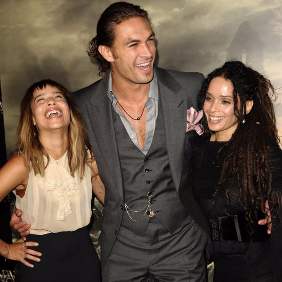 Jason Momoa and Zoe Kravitz Pictures