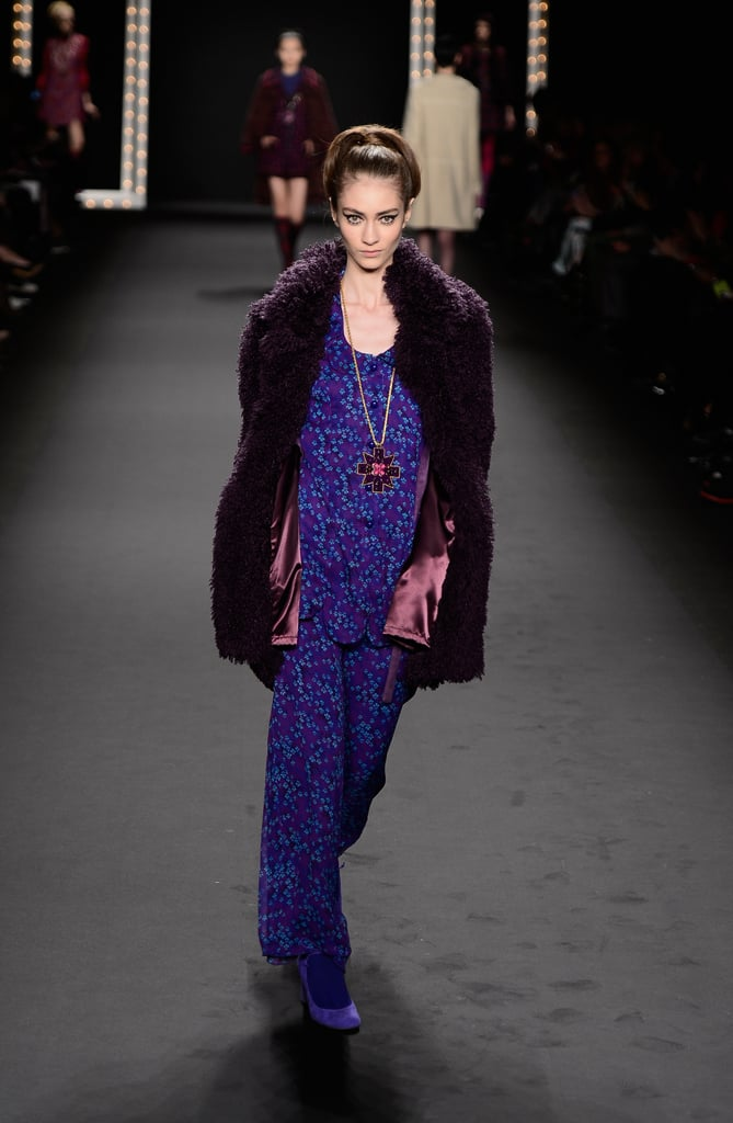 2013 Fall New York Fashion Week: Anna Sui
