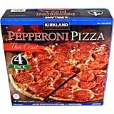 Best Costco Frozen Food: Kirkland Thin-Crust Pepperoni Pizza ($13)