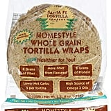 Santa Fe Tortilla Company Home Style Whole Grain Wraps With Flaxseed