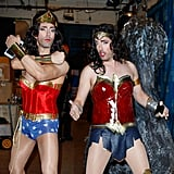 Property Brothers Wonder Woman Halloween Costume 2017