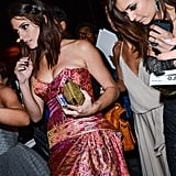 Ashley Greene and Nina Dobrev left the after party together.