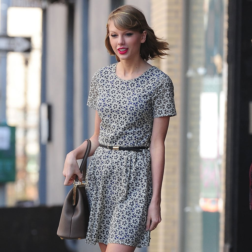 Taylor Swift Shows Some Love For the UK High Street