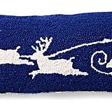 Santa Sleigh Wool Pillow ($35, originally $39)