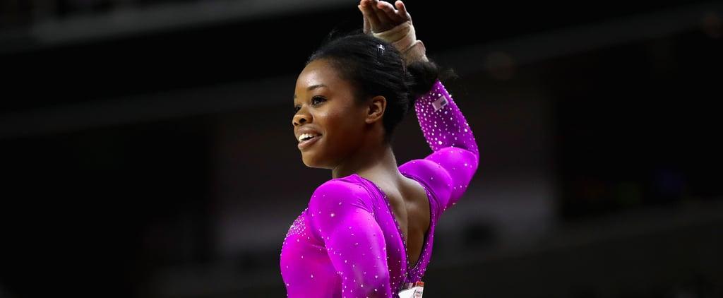 Gabby Douglas's Hair at the 2016 Olympics