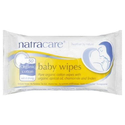 Natracare Baby Wipes (200 count for $28)