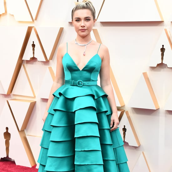 Florence Pugh's Turquoise Louis Vuitton Dress at the Oscars