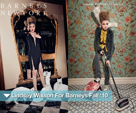 Pictures of Lindsey Wixson For Barneys Fall '10 Catalogue