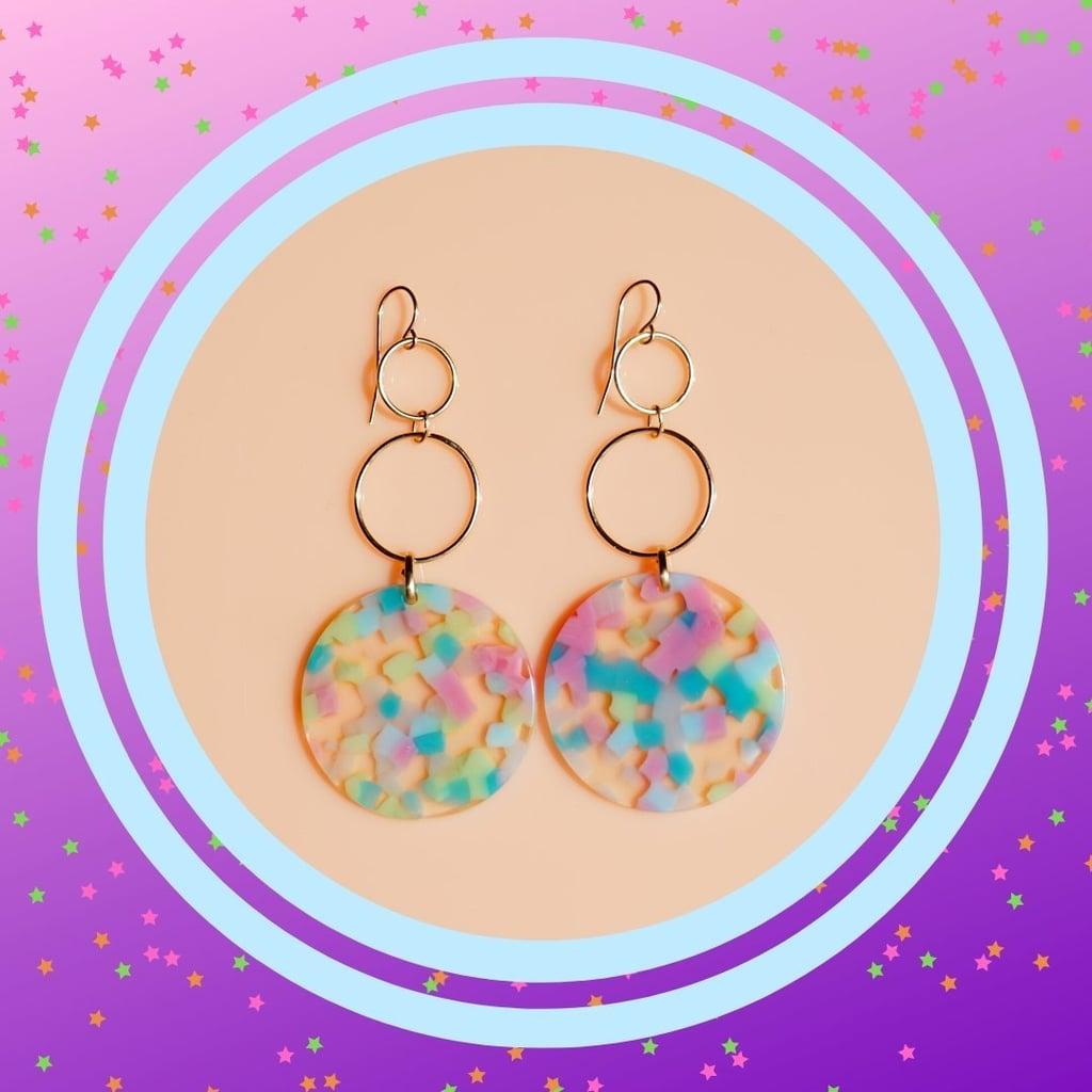 Gwen Stefani-Inspired Hoop Earrings