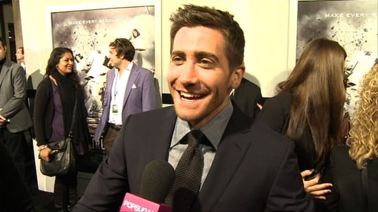 Video: Jake Gyllenhaal at Source Code Premiere in LA