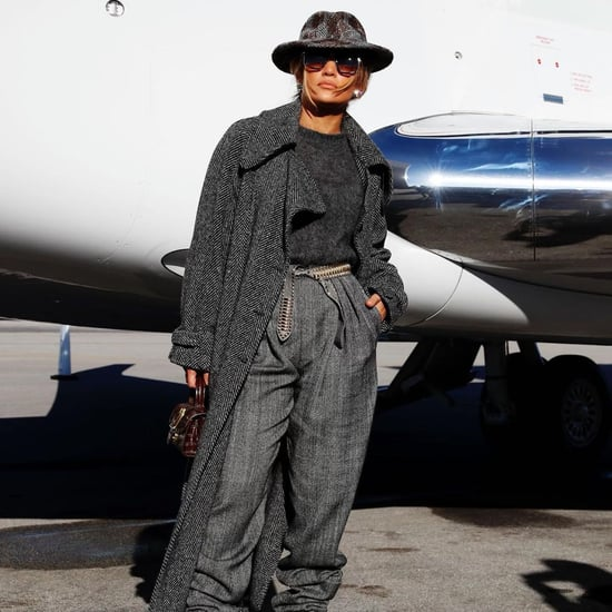 See Jennifer Lopez's Airplane Outfit to DC For Inauguration