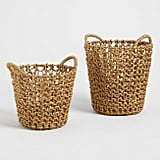 Gold Hyacinth Francesca Baskets