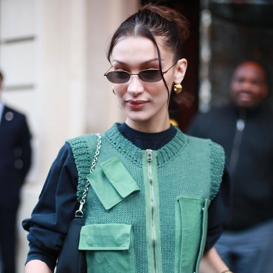 Bella Hadid's Gold Hoops Say Her Name and Support a Charity