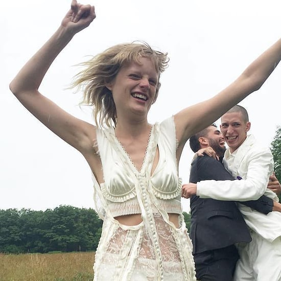 Hanne Gaby Odiele's Wedding Dress