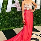 Kerry Washington arrived at the Vanity Fair Oscar party.