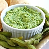 Edamame guacamole packs in some additional flavor and protein, only further healthifying this favorite snack.