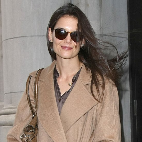 Pictures of Katie Holmes Leaving Her NYC Apartment