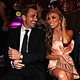 Giuliana Rancic and husband Bill Rancic laughed together in the audience.