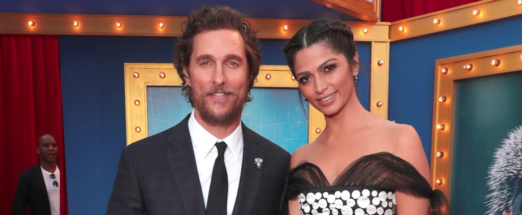 Matthew McConaughey Has the Support of His Beautiful Family at the Premiere of Sing
