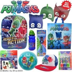 PJ Masks Showbag ($28) Includes:  Ball  Stamp and sticker set  Mask set
