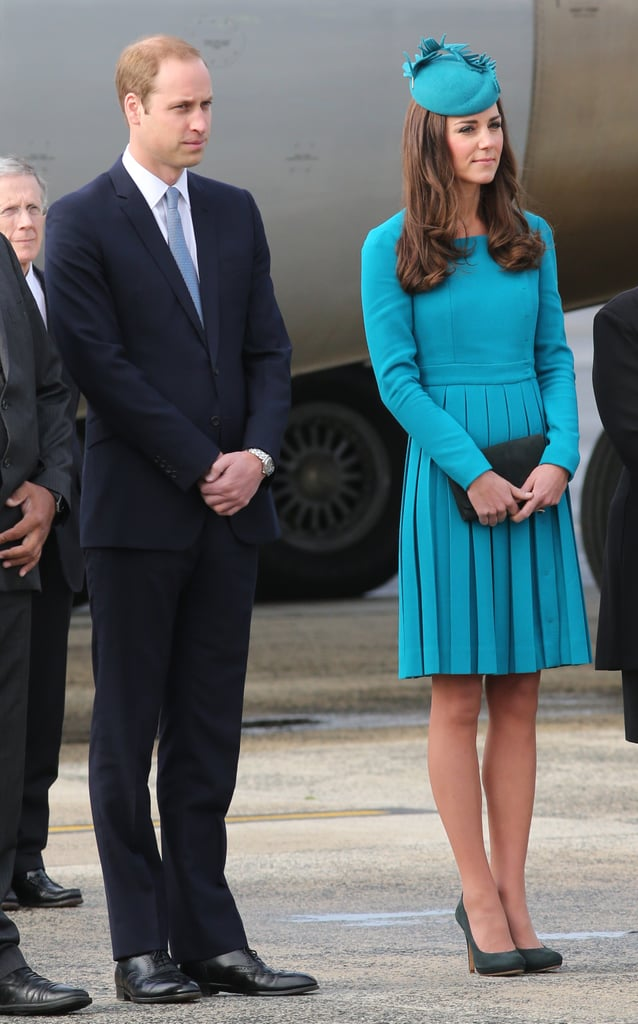 Kate Middleton in a Emilia Wickstead Dress