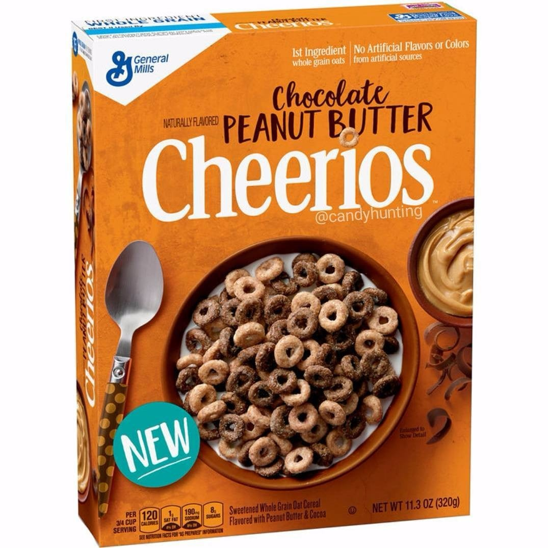 Image result for Chocolate Peanut Butter Cheerios
