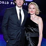 Adam Driver and Joanne Tucker at the Star Wars: The Rise of Skywalker Premiere in LA