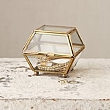Faceted Glass Vanity Box