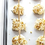 Naturally Sweetened Honey Popcorn Balls