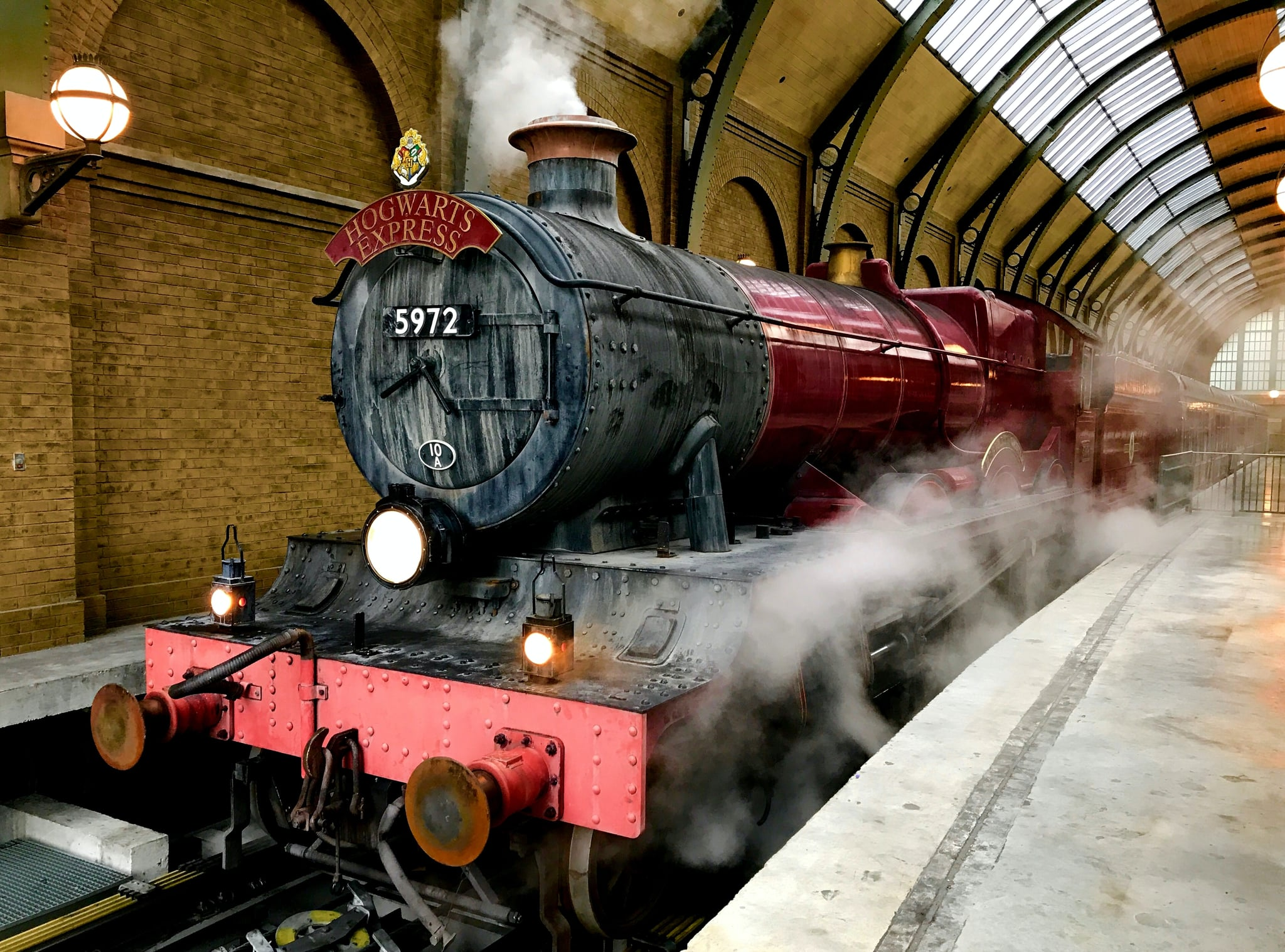 Harry Potter Hogwarts Express Zoom Background Transport Yourself