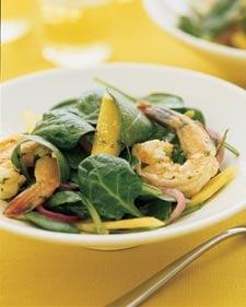 Shrimp Spinach Salad Recipe