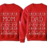 Mom and Dad Matching Christmas Sweater