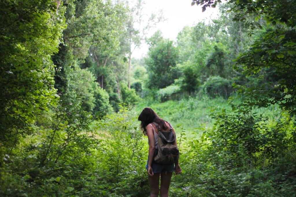 Take a day hiking trip.
