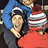"""To the Brady family, there's no such thing as """"hat hair."""""""