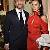 Pictured: Chris Gay and Adriana Lima