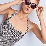 Seafolly Riviera Striped Boyleg One-Piece Swimsuit