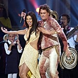 Roselyn Sánchez Plays a Sexy Teacher During Carlos Vives's Performance