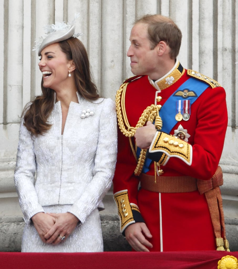 They cracked up on the balcony of Buckingham Palace in 2014.