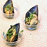 Bar Crudo's Marinated Mussels
