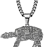 Stainless Steel AT-AT Walker Pendant Necklace ($25, originally $100)