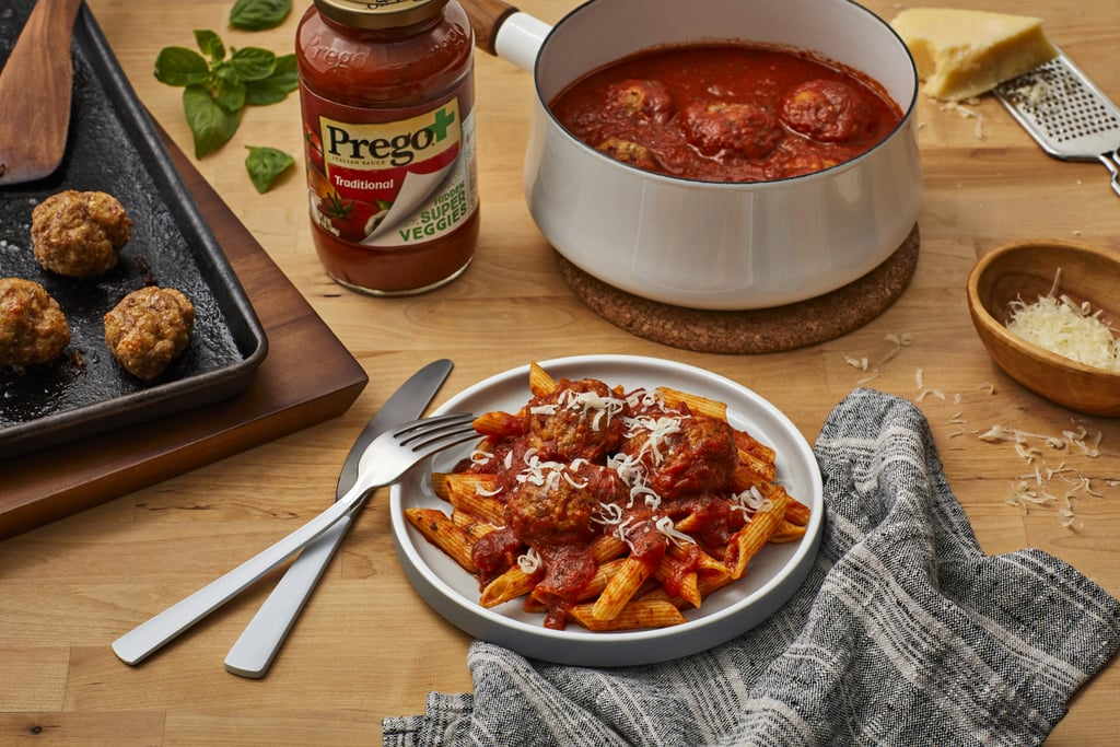 See the Prego+ Hidden Super Veggies Traditional Sauce in Action