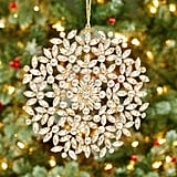 Jeweled Circle Snowflake Ornament