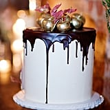 Add Drama With Gilded Cake Toppers