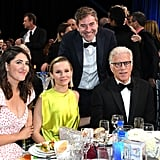 D'Arcy Carden, Kristen Bell, Mark Duplass, and Ted Danson at the 2020 Critics' Choice Awards