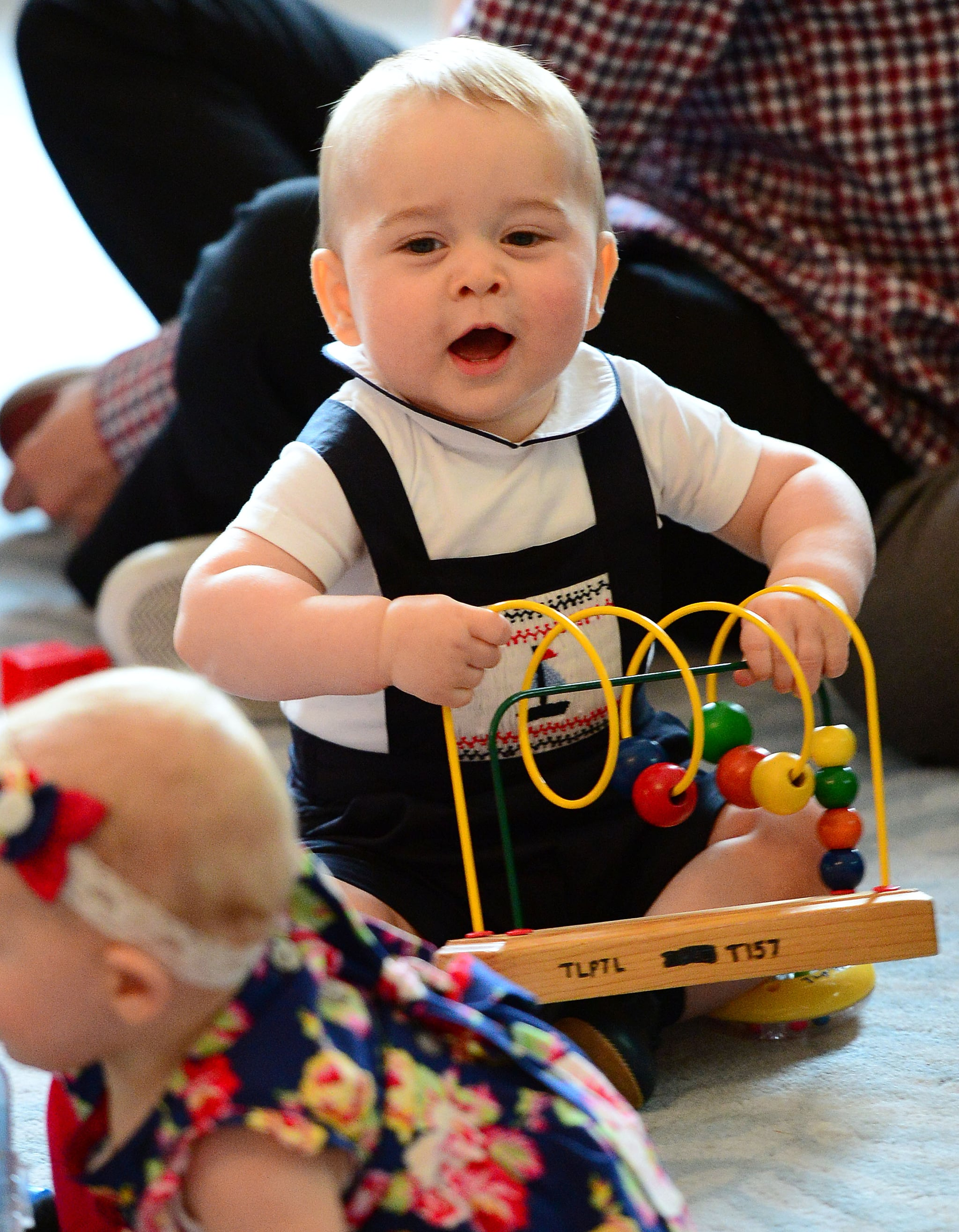 When He Totally Owned the Playgroup