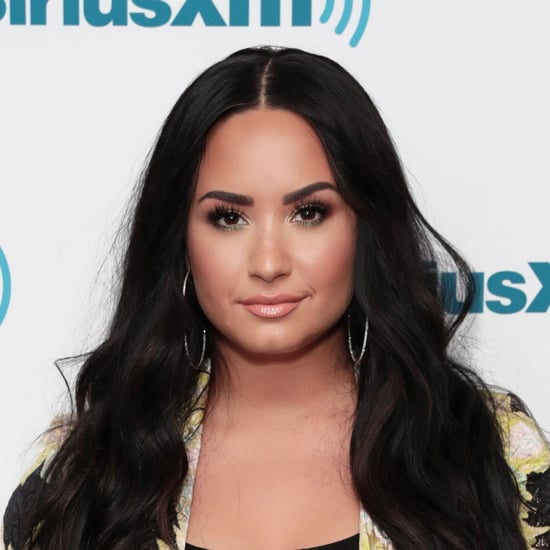Demi Lovato's Neon Green Nail Polish Colour Matches Her Hair