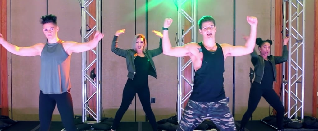 This Fitness Marshall's Dance to Bebe Rexha Is So Fun, It's Electric