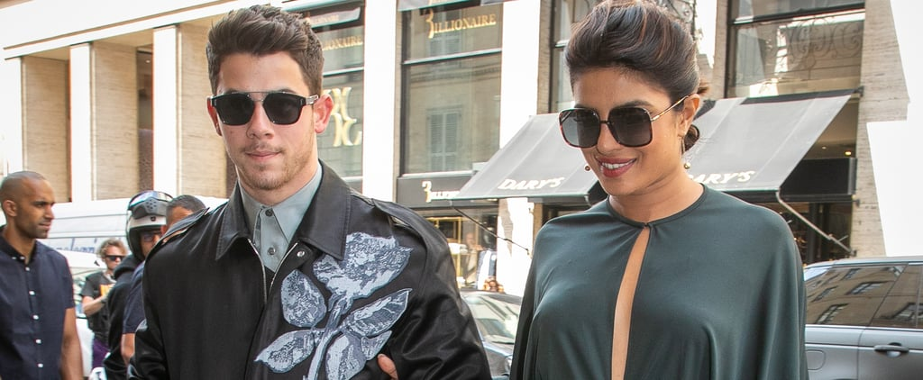Priyanka Chopra and Nick Jonas at Dior Show 2019